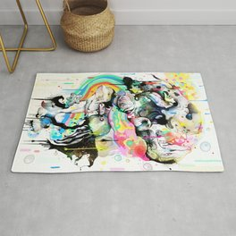 Ink Fight Colors Rug