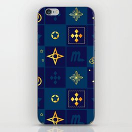 Night Waltz of the planets. iPhone Skin