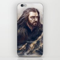 thorin iPhone & iPod Skins featuring Thorin by Ka-ren