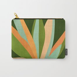 Colorful Agave / Painted Cactus Illustration Carry-All Pouch