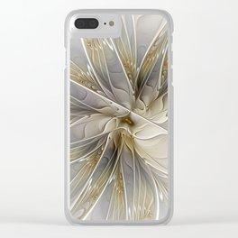 Precious, Fractal Art Clear iPhone Case