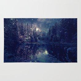 Winter Forest Deep Pastel Rug