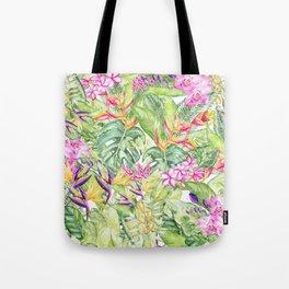 Tropical Garden 1A #society6 Tote Bag