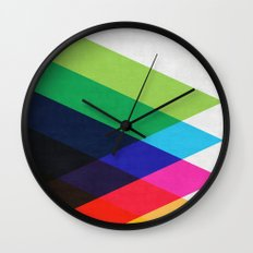 Abstract and minimalist pattern Wall Clock