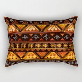 Modern Native American Pattern Rectangular Pillow