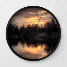 Chasewater Sunrise Wall Clock
