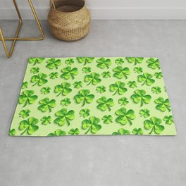 Happy St. Patrick's Day Pattern | Ireland Luck Rug