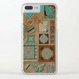 Paper Bird Clear iPhone Case