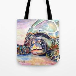 Turtle at Poipu Beach Tote Bag
