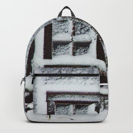 Snow Caked Barn Backpack