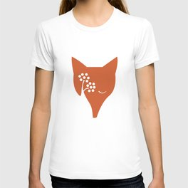 Red Fox and Rowan Tree T-shirt