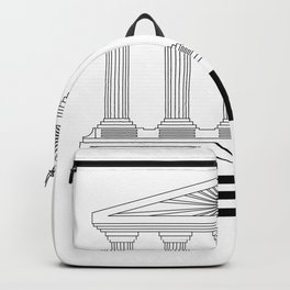 Europe Acropolis of Athens of Greece Backpack