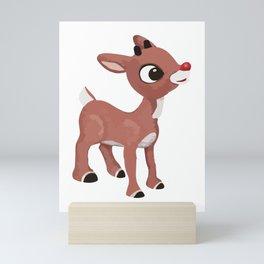 Classic Rudolph Mini Art Print