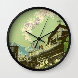 TRAINWRECK Wall Clock