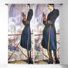 12,000pixel-500dpi - Portrait Of Adolfo Best Maugard - Diego Rivera Blackout Curtain