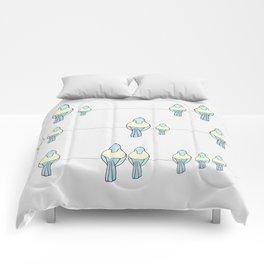Birds on the line Comforters