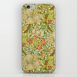 William Morris Golden Lily Vintage Pre-Raphaelite Floral Art iPhone Skin