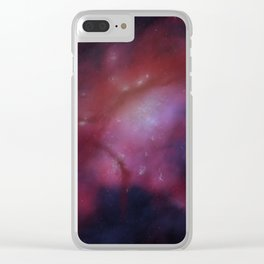 Boston Glow: City of Stars Clear iPhone Case