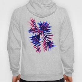 Aechmea Fasciata - Dark Blue / Purple Hoody