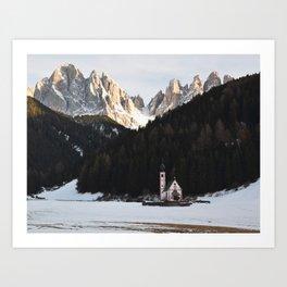 isolated. Art Print