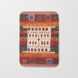 N38 - Epic Bohemian Traditional Andalusian Moroccan Artwork Bath Mat