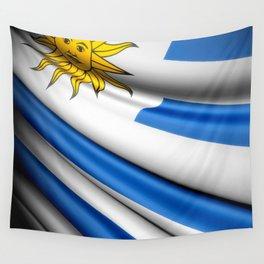 Flag of Uruguay Wall Tapestry