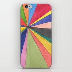 Watercolor Pinwheel Robayre iPhone & iPod Skin