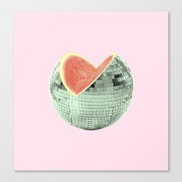 Discomelon Canvas Print