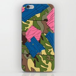 Army Girl Clothing iPhone Skin