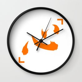 Netero Lucky Shirt Inspired Design (Symbol means Heart/Mind in Japanese) Wall Clock