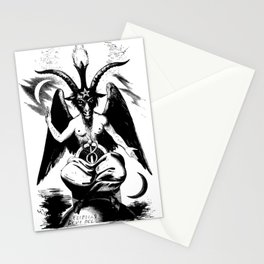 BAPHOMET by ELIPHAS LEVI Stationery Cards