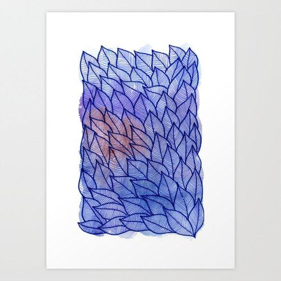 Leaves / Nr. 2 Art Print