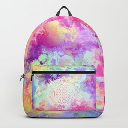 Flower Of Life (Batik 13) Backpack