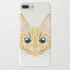 orange cat Slim Case iPhone 7 Plus