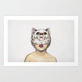Masked Avenger Art Print