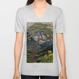 The Downwards Climbing Unisex V-Neck