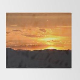 Southwest Sunrise - II Throw Blanket