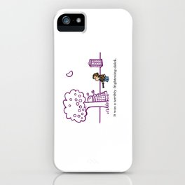 Dr Harold and the Purple Screwdriver iPhone Case
