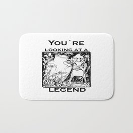 You're Looking At A Legend St Patricks Day Clurichaun Bath Mat