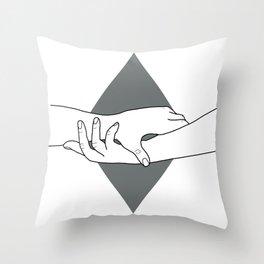 HEAL ME Throw Pillow