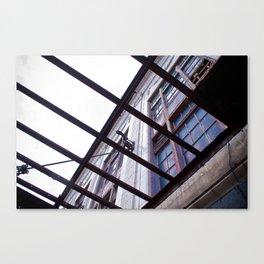 Rahabbing Building Canvas Print