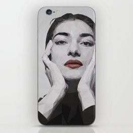 Geometric Callas iPhone Skin