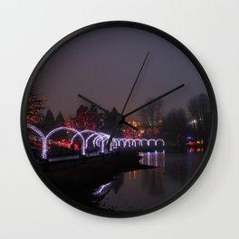 fog arches Wall Clock