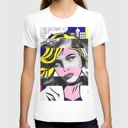 Roy Lichtenstein & Lauren Bacall T-shirt