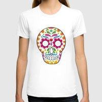 dia de los muertos T-shirts featuring Dia de los muertos by Studio Armad'illo
