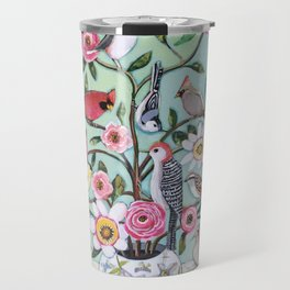 Bird Vines Travel Mug