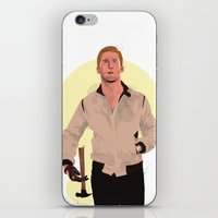 ryan gosling iPhone & iPod Skins featuring Drive - Ryan Gosling by Just Jolt