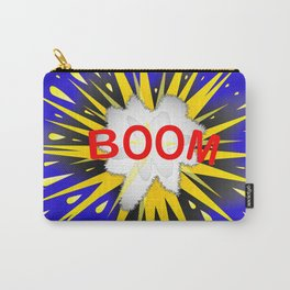 Boom Cartoon Bubble Carry-All Pouch