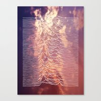 joy division Canvas Prints featuring Joy Division by NoHo