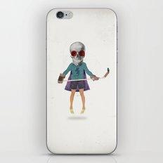 Superhero #9 iPhone & iPod Skin